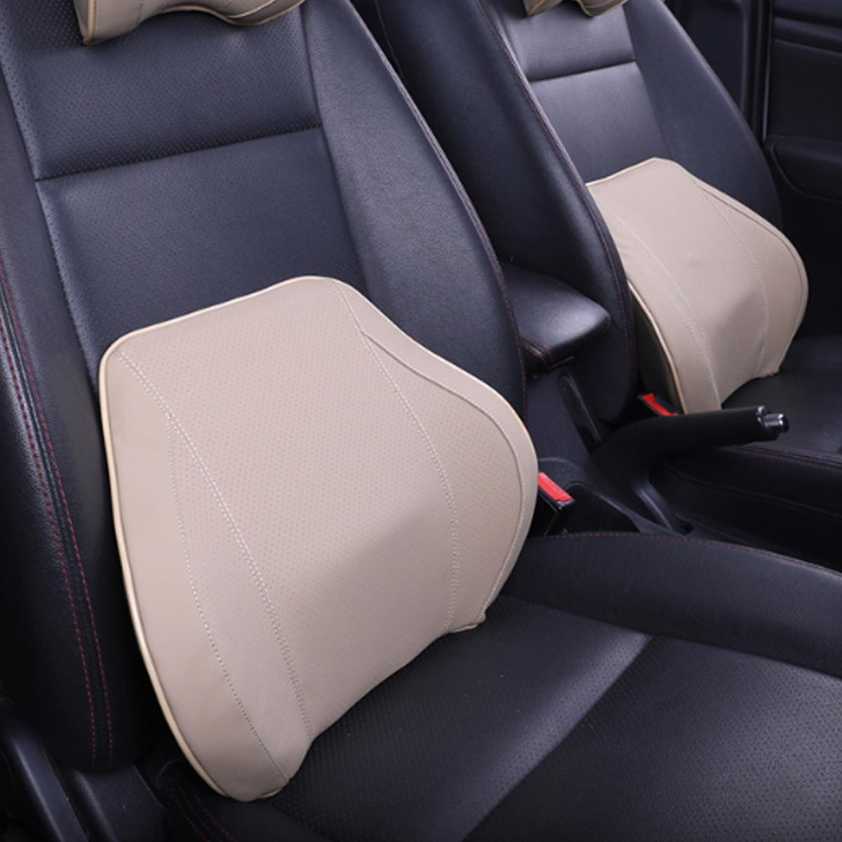 Memory Foam Home Office Car Auto Seat Head Neck Waist Lumbar Back Support Cushion Pad Message Headrest Pillow