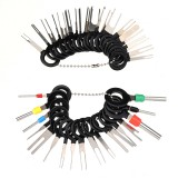 38Pcs/Set Car Terminal Removal Tool Electrical Wiring Crimp Connector Pin Extractor Kit Automobiles Terminal Repair Tools