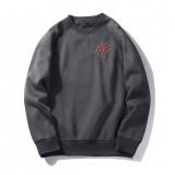 Mens Fashion Crew Neck Long Sleeve Casual Pullover Sweatshirt