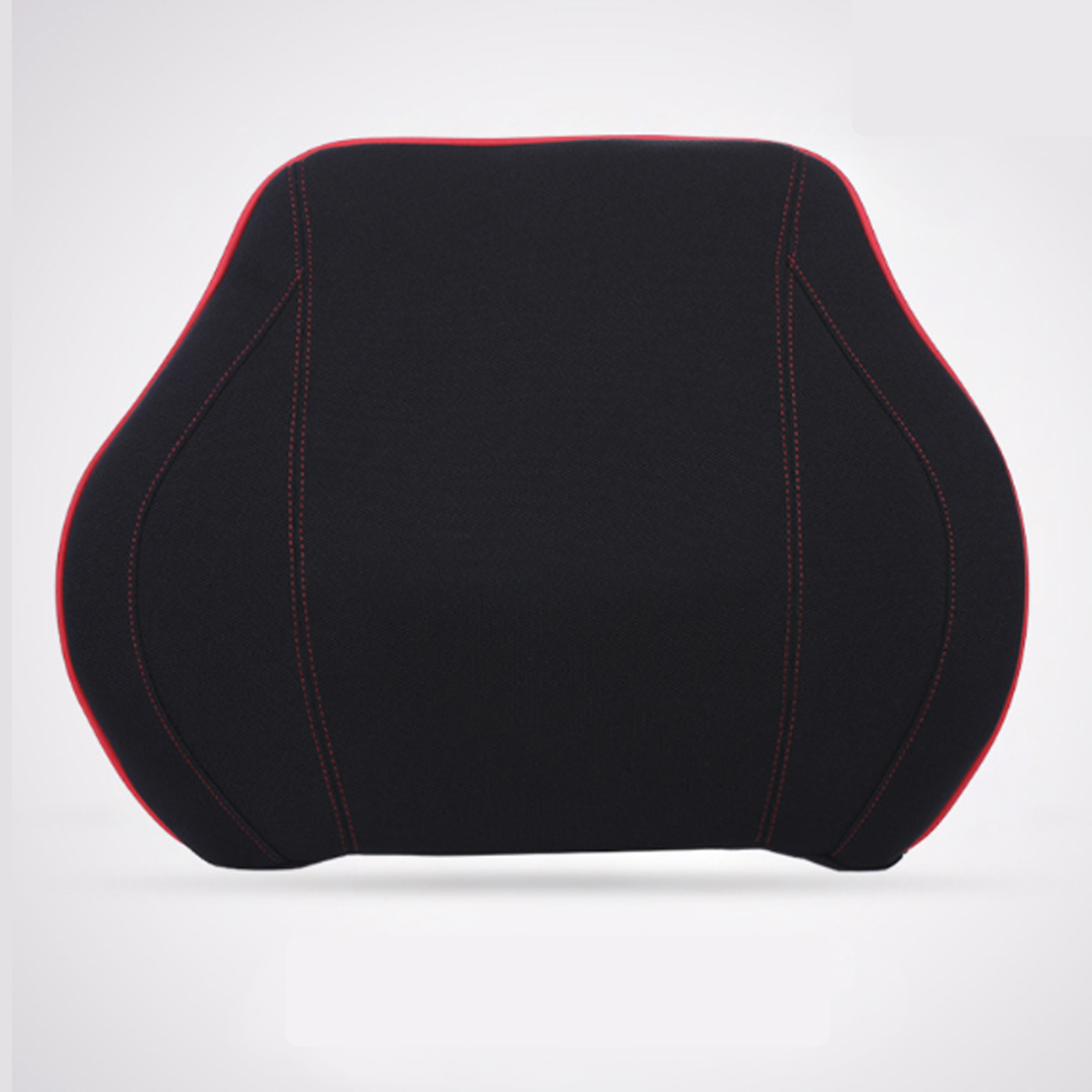 Space Memory Cotton Car Headrest Auto Seat Waist Back Support Pillow Back Cushion Pad Message Home Office