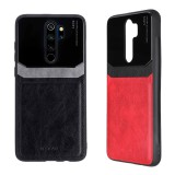 For Xiaomi Redmi Note 8 Pro Case Bakeey Luxury Business PU Leather Mirror Glass Shockproof Protective Case