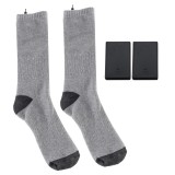 Electric Heated Socks Boot Feet Warmer Winter Powered Rechargable Battery Sock