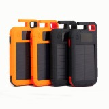 Xmund XD-SC1 8000mah Solar Power Bank Camping Emergency LED Light Waterproof Battery Charger Compatible with Most Of Smart Phone