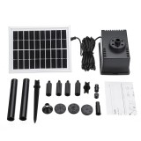 180L/H Solar Fountain Pump Kit Free Standing 2W Solar Panel Submersible Water Pump Pond Fish Tank Bird Bath