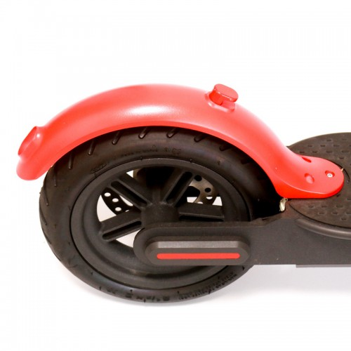 BIKIGHT Red Front Rear Fender Scooter Wheel Fender Repair Part For Xiaomi M365/PRO Electric Scooter
