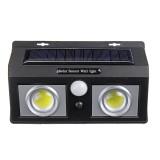 Solar 50 LED Wall Light COB PIR Motion Sensor Outdoor Garden Wall Lamp