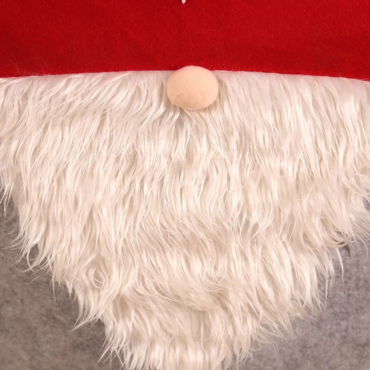Happy New Year Merry Christmas Santa Claus Cap Table Chair Covers Red Hat Back Chair Covers Christmas Decorations for Home