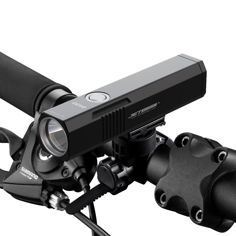 JETBEAM BR30 1800 Lumens Bike Front Light 21700 Battery 360 Rotatable USB Rechargeable 6 Modes IPX8 Waterproof Flashlight