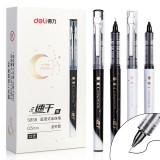 XIAOMI Ecosystem Deli S858 1 Piece Full Needle Gel Pen 0.5mm Nib Writing Signing Pens Office School Supplies