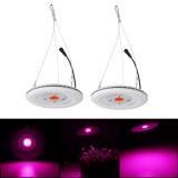 50W COB LED Round Full Spectrum Light Waterproof IP64 Flood Light Plant Flower Indoor Hydroponic Greenhouse Grow Light