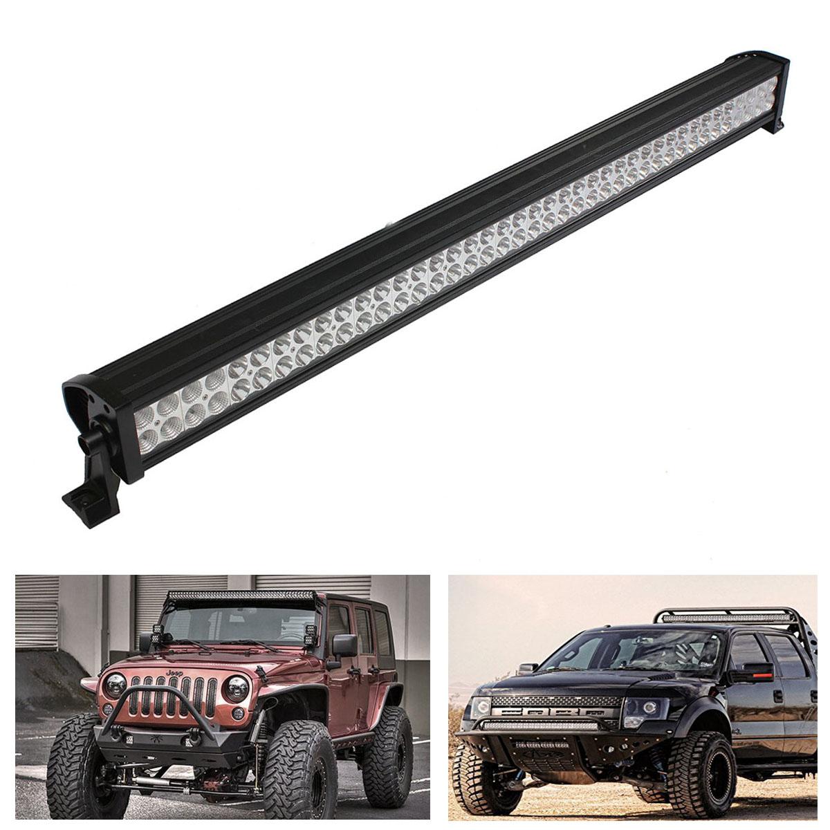 "42"" 240W Combo Beam LED Work Light Bar Flood Spot For SUV ATV Boat Offroad 4WD Bar"