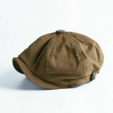 Men Vintage Painter Beret Caps Octagonal Newsboy Cap Cabbie Ivy Flat Hat