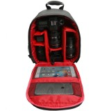 Water-resistant Shockproof Travel Carry Camera Bag Backpack for Canon for Nikon DSLR Camera Tripod Lens Flash
