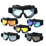 Eyewear Helmet Goggles Anti-UV Windproof Glasses Motorcycle Biker