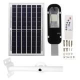 100W Solar Panel Wall Street Light IP65 Light Remote Control Outdoor Garden Flood Lamp