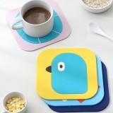 Silicone Cartoon Insulation Pad Anti-scalding Non-slip Cup Pot Mat Bowl Mat INS Style
