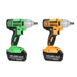 128VF Electric 1/2″ Electric Wrench Brushless Cordless Impact Li-ion Battery Power Tools