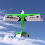 Dancing Wings Hobby STICK-14 V2 1400mm Wingspan Balsa Wood 3D Aerobatic Trainer RC Airplane KIT