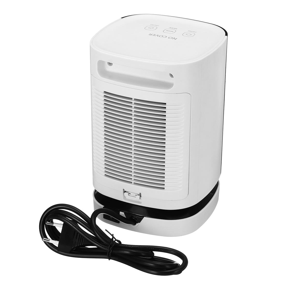 Portable Travel 950W Electric Fan Heater Home Office Warm Air Blower Winter Warmer Heating Fan