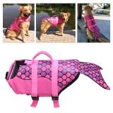 Universal Dog Life Jacket Pet Swim Clothing Float Coat Safety Vest Mermaid Pet Vest