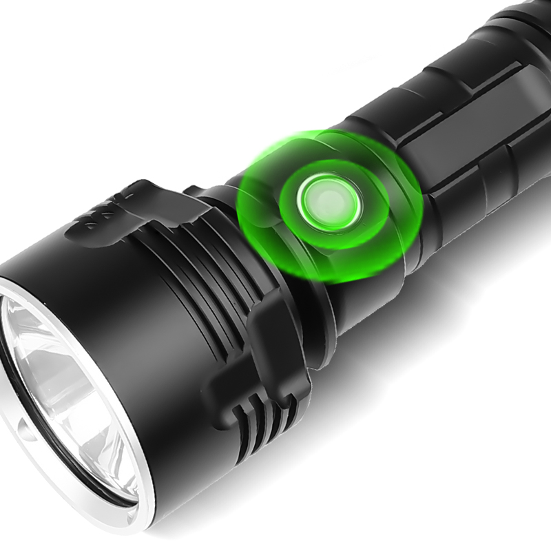 XANES XHP50 L2 3Modes 1500Lumens Super Bright Flashlight LED Flashlight Suit USB Rechargeable with Flashlight 26650 Flashlight Flashlight Led Flashlight 18650 Flashlight Torch