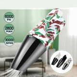 12V 120W Handheld Car/Home Vacuum Cleaner 6Kpa Strong Suction Power