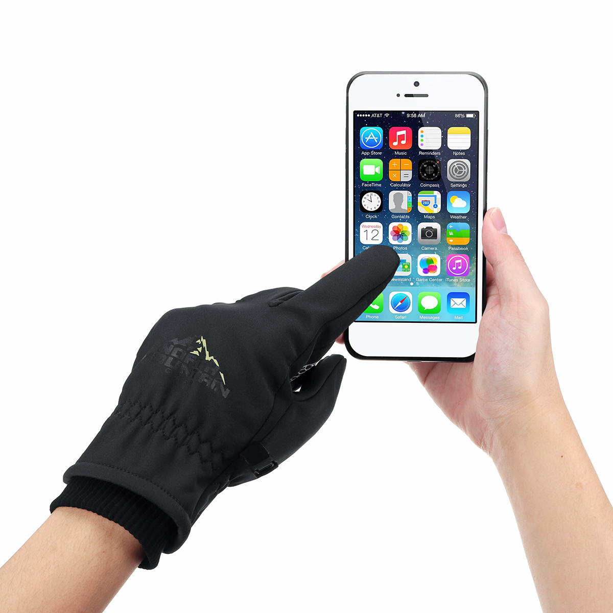 Winter Warm Touch Screen Thermal Gloves Motorcycle Ski Snow Snowboard Cycling Touchscreen Waterproof