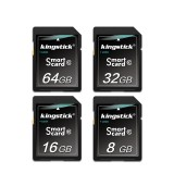 Kingstick SD Card 32GB 64GB 128GB Memory Card Class 10 SD Flash Memory Card SD Smart Card for Camera