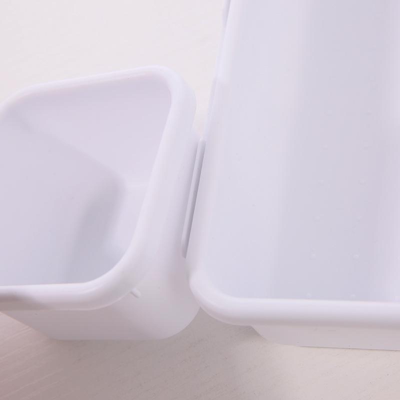 Plastic Compartment Drawer Cosmetic Makeup Jewelry Sundries Organizer Desktop Storage Box