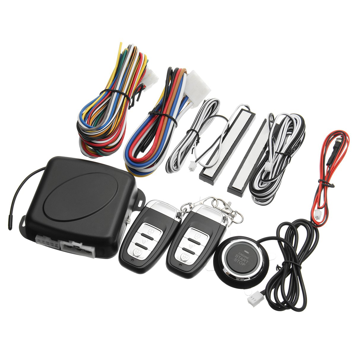 Keyless Entry Engine Push Start Alarm System Peps Remote