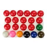 "22Pcs/Set 2-1/16"" Inch Deluxe American Snooker Set Complete Billiard Decorations"