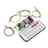3W-5W bluetooth 4.2 Audio Decode Board Lossless With Power Amplifier Stereo DC 3.7-5V for U disk MP3 Decoder CT10E-BT