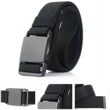 AWMN 125cm x 3.8cm Nylon Zinc Alloy Magnetic Buckle Quick Release Men Tactical Belt Casual Belts