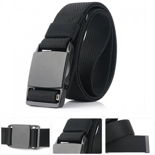 AWMN 125cm x 3.8cm Nylon Zinc Alloy Magnetic Buckle Quick Release Men Tactical Belt Casual Belts