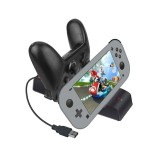 Durable Type-C Charging Dock Station Stand with Data Cable for Nintendo Switch Lite/NS Pro Game Console Controller