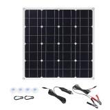 150W 18V Mono Solar Panel USB 12V/5V DC Monocrystalline Flexible Solar Charger For Car RV Boat Battery Charger Waterproof