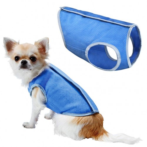 Summer Cooling Jacket Coat Vest T-shirt Clothes Clothing For Dog Cat Puppy Pet Vest
