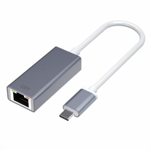 DM CHB017 Type - C to Gigabit Network Port Hub RJ45 Adapter Hub Extender Extension Connector