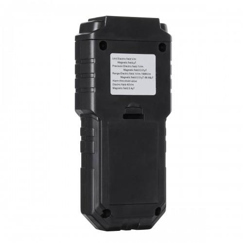 LIUMY Mini Electromagnetic Radiation Tester EMF Meter Electric Magnetic Detector