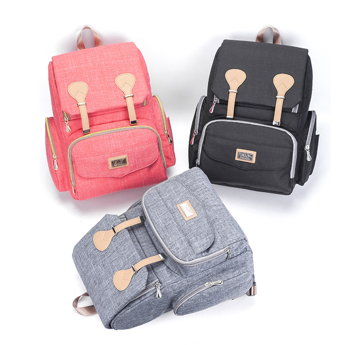 Waterproof Large Capacity Mummy Bag Outdoor Traveling Camping Backpack Handbag Storage Bag