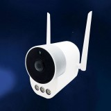 Xiaovv B1 3 Lights HD 3.0MP Waterproof Outdoor IP Camera ONVIF WIFI Wireless Camera Night Vision Two-way Audio Baby Monitors