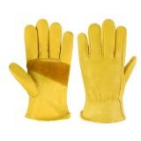 Heavy Duty Leather Gardening Work Outdoor Gloves Men Women Thorn Proof Work Gloves