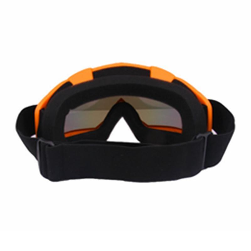 Skiing Goggles Snowboard Ski Eyewear Anti-UV Glasses For Motorcycle Motocross Red Lens