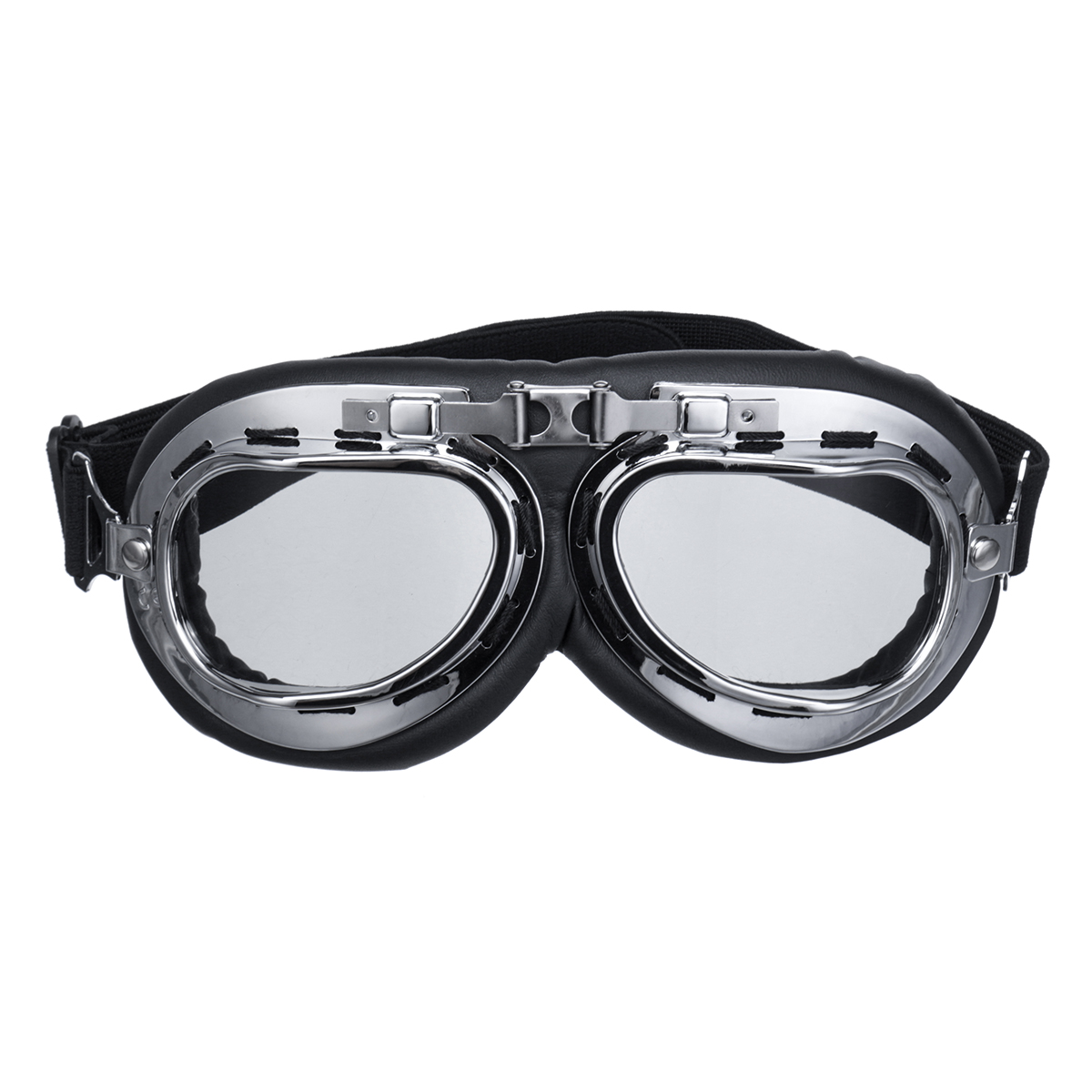 Retro Helmet Goggles Motorcycle Scooter Cycling Riding Eyewear Glasses