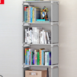 DIY Child Bookcase Stand Shelf Bookshelf Cube Shelf Storage Shelf File Shelf Creative Combination Layer Shelf