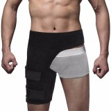 Hip Brace Adjustable Leg Groin Support Compression Wrap Hip Thigh Pain Relief Strap