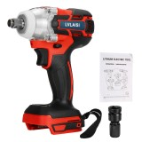 """18V 520N.m. Li-Ion Cordless Impact Wrench Driver 1/2"""" Electric Wrench Replacement for Makita Battery"""