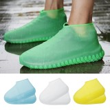Luminous Waterproof Shoe Covers Silicone Non-Slip Overshoes Shoes Protector Reusable Wear-Resistant