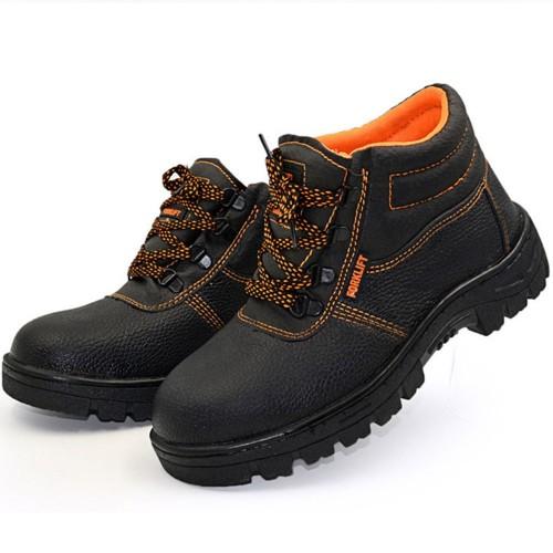 Unisex Steel Toe Shoes Safety Non-Slip Waterproof Anti-Smashing Work Shoes