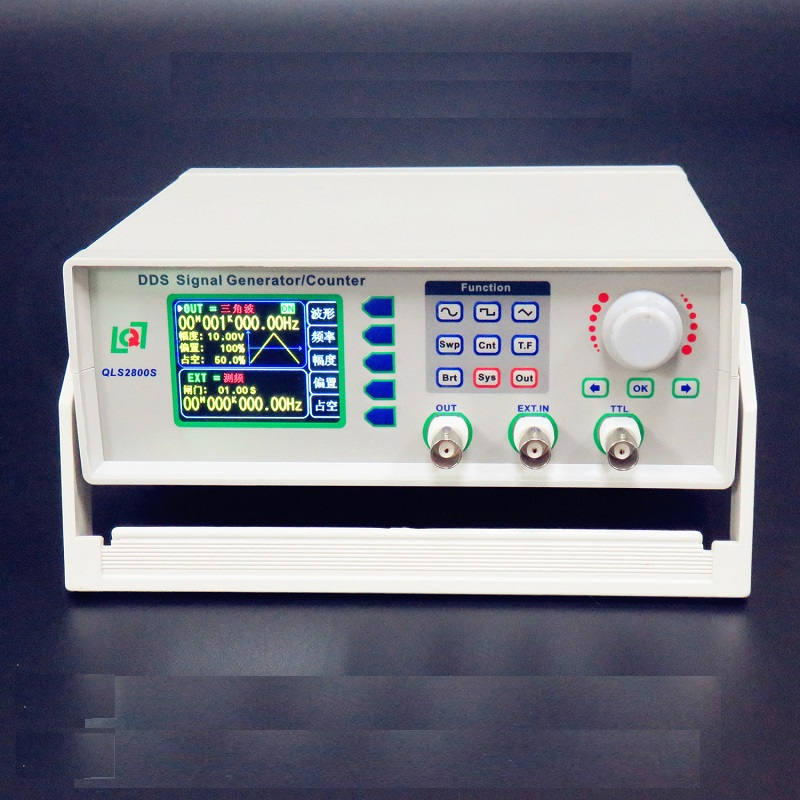 """QLS2802S-2M//5M DDS Signal Generator//Counter Frequency Counter 2.4/"""" TFT Colorful"""